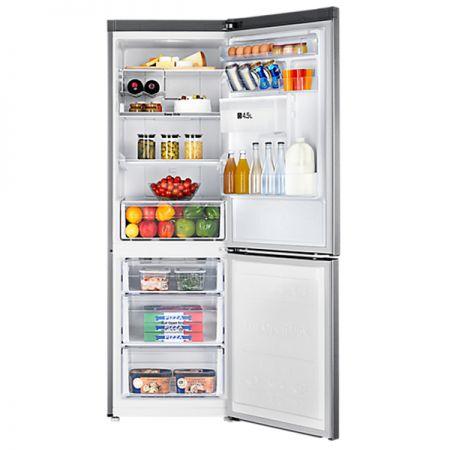 Хладилник с фризер Samsung RB33J3830SA/EF, 321 л, Клас A+, H 185 см, Metal Graphite