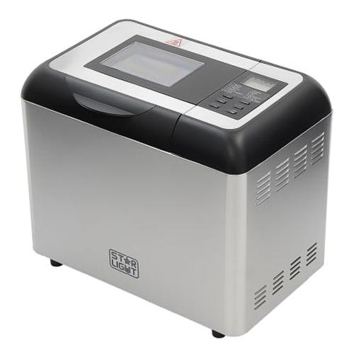 Хлебопекарна Star-Light MPD-700W, 12 програми, 900 гр, Inox