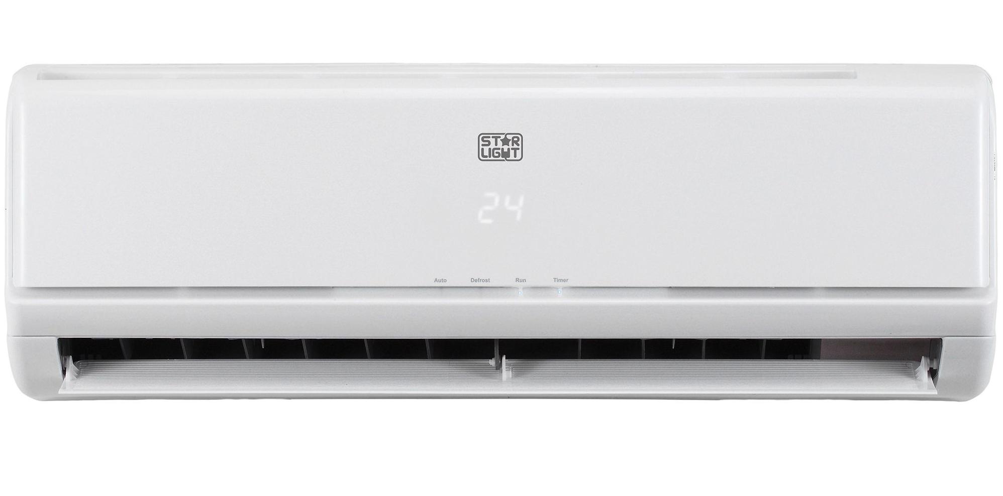 Инверторен климатик Star-Light ACM-12BIN, 12000 BTU, Клас A++, Дисплей, Бял