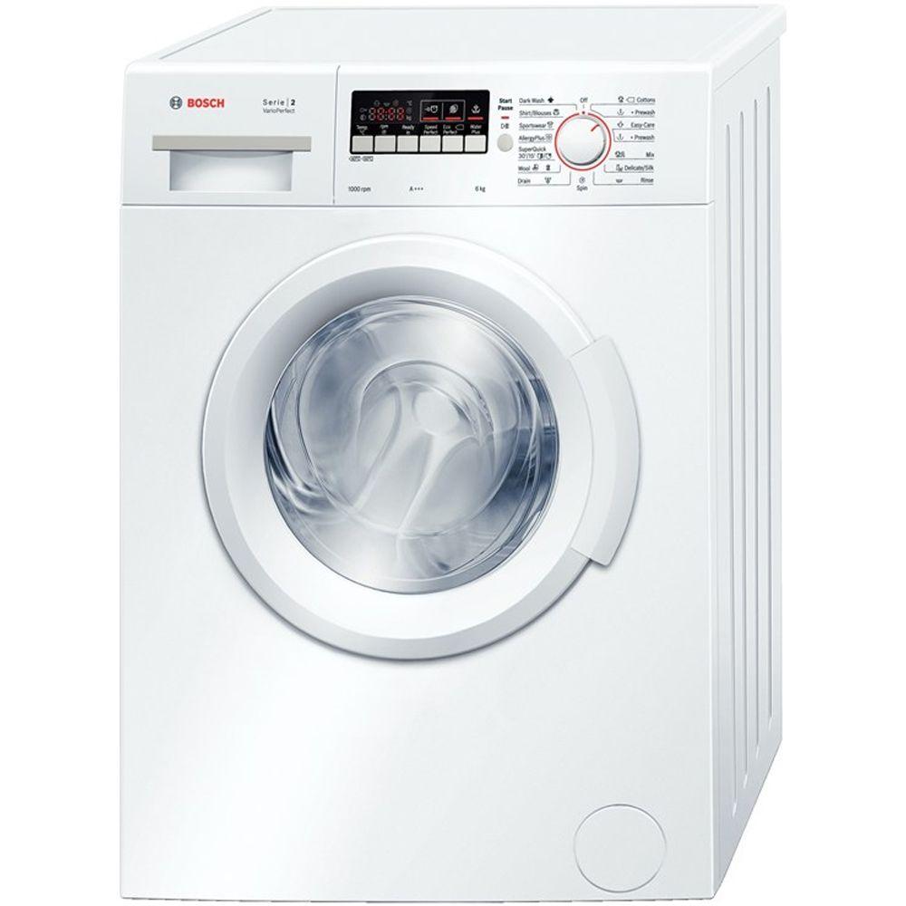 Пералня Bosch WAB20262BY, 6 кг, 1000 об/мин, Клас A+++, Бяла