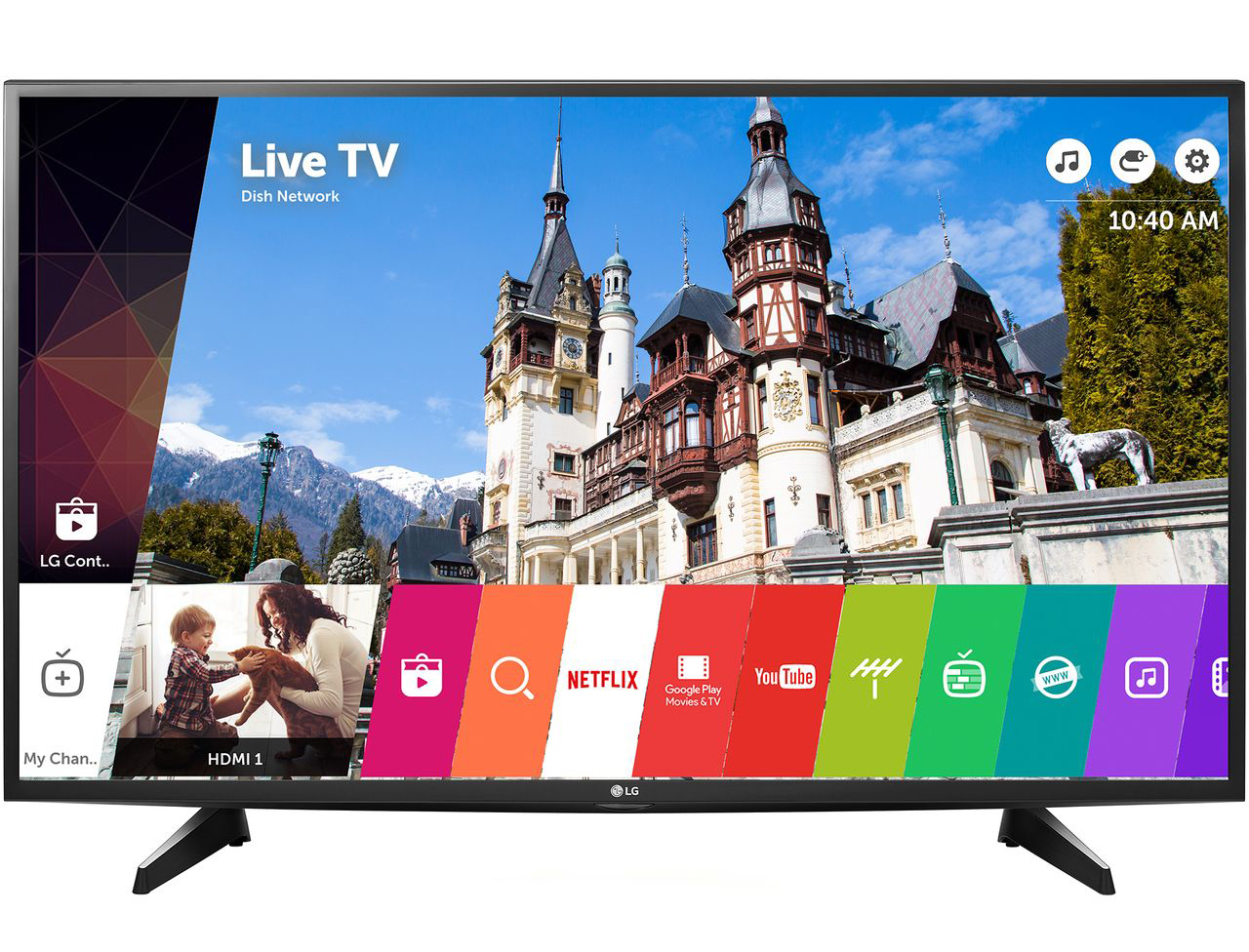 "Телевизор LED Smart LG, 43UH6107, 43""(108 см), 4K Ultra HD"