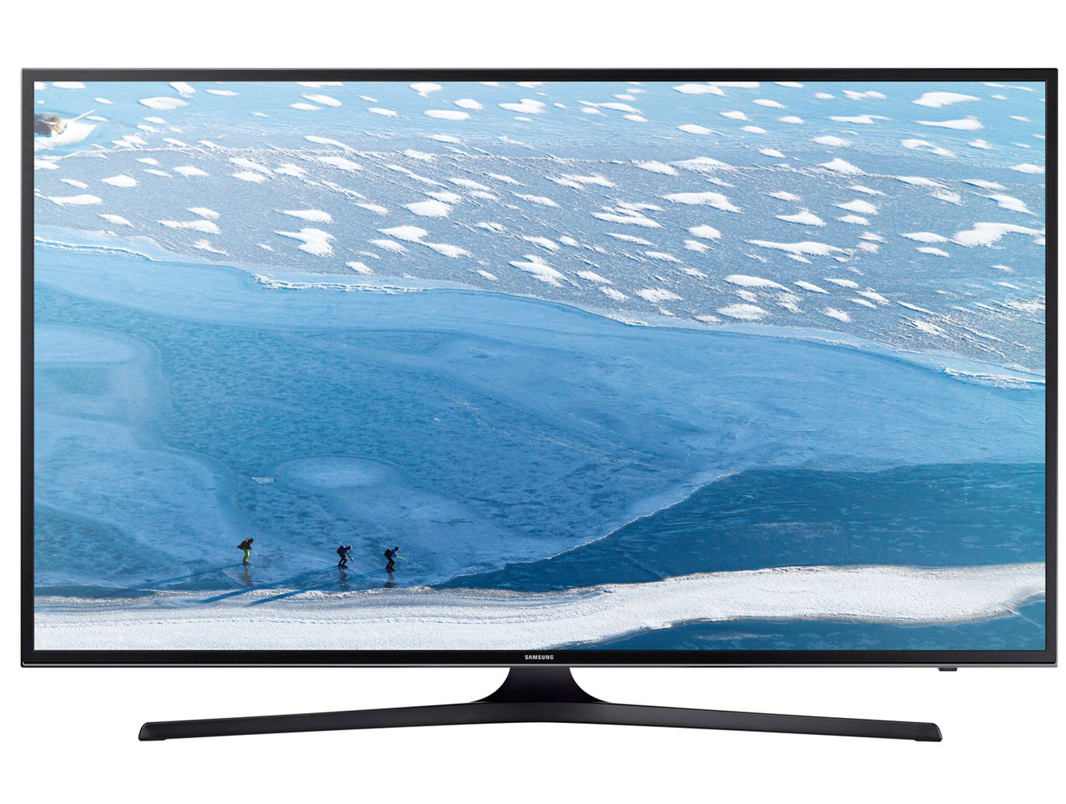 "Телевизор LED Smart Samsung, 43""(108 cм), 43KU6072, 4K Ultra HD"