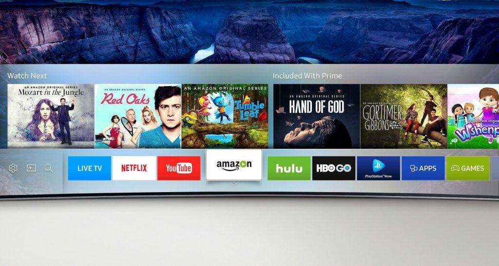 """Телевизор Smart LED Samsung 40KU6172, Извит, 40"""" (101 см), 4K Ultra HD"""