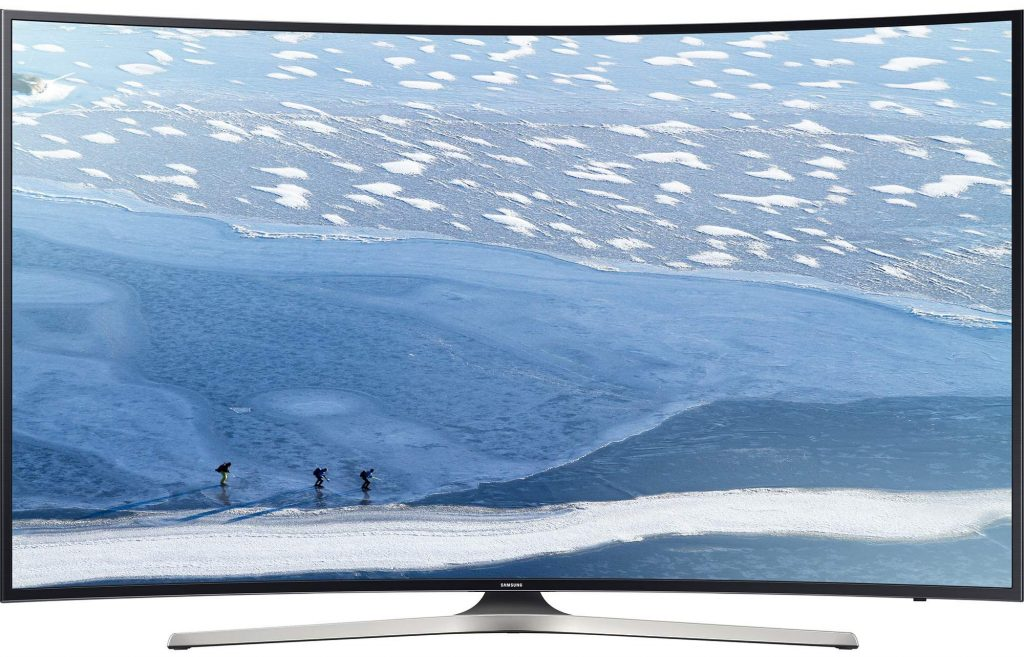 "Телевизор Smart LED Samsung 49KU6172, Извит, 49"" (123 см), 4K Ultra HD"