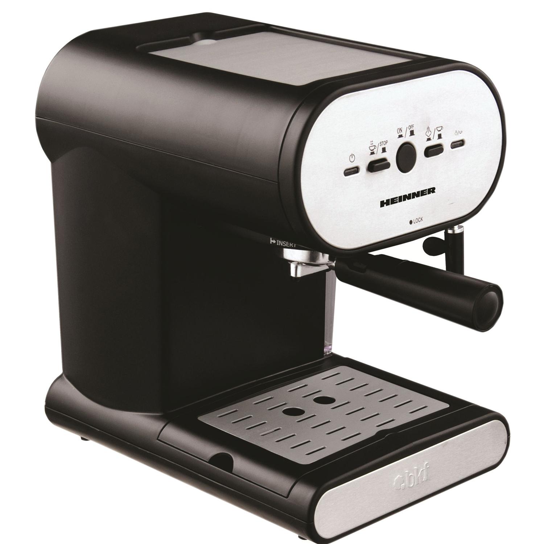 Еспресо машина Heinner Soft Cream HEM-250, 1050W, 1 л, 15 Бара, Инокс