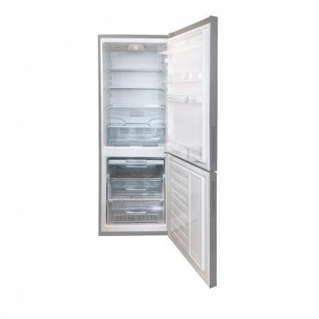 Хладилник с фризер Arctic AK60320MT+, 295 л, Клас A+, H 185.3 см, Сребрист