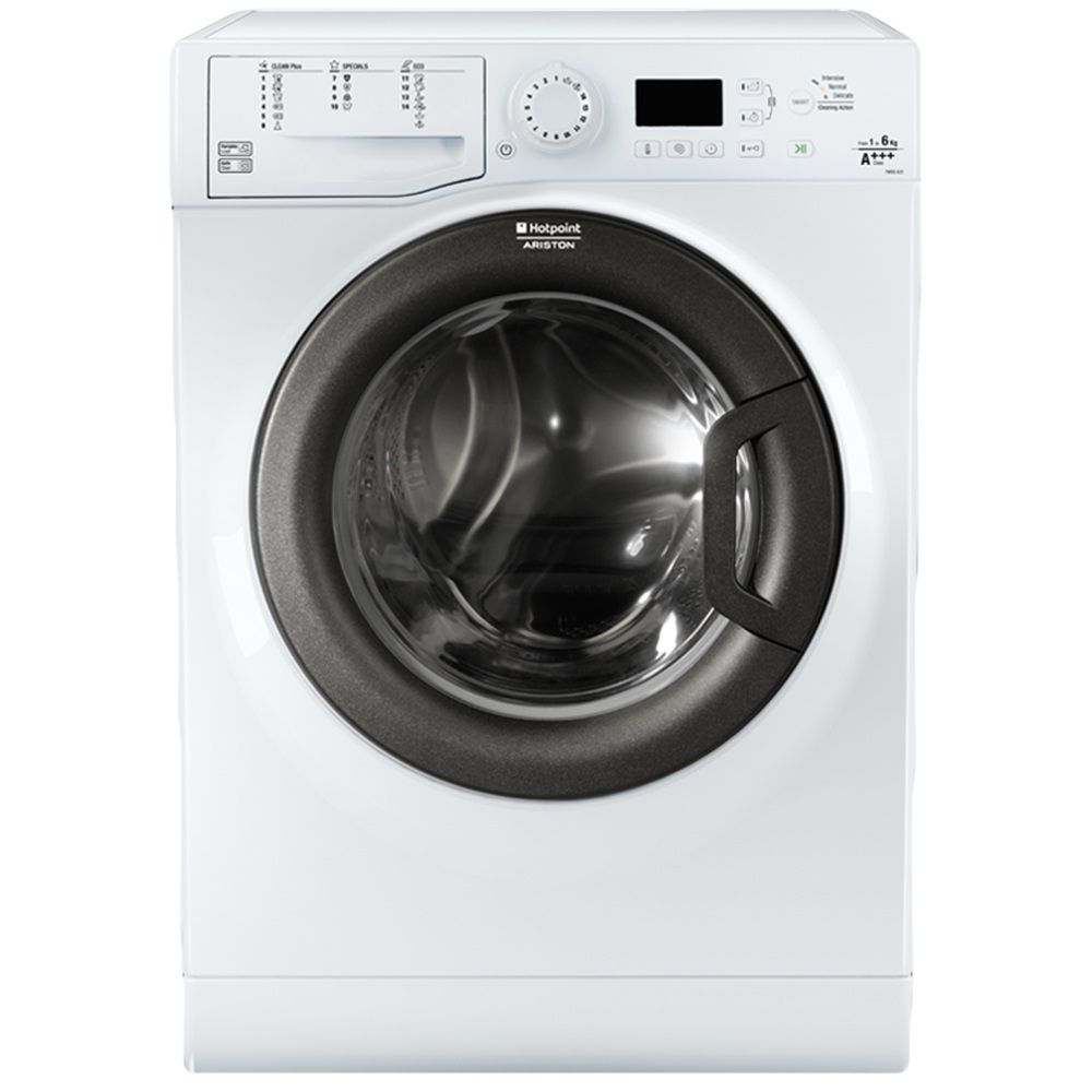 Пералня Hotpoint-Ariston FMSG 623B, Slim, 6 кг, 1200 об/мин, Клас A+++