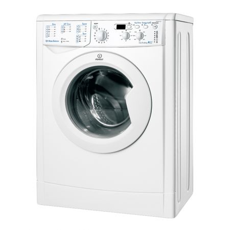 Пералня Slim Indesit IWSND 61253 C ECO EU, 6 кг, 1200 об/мин Клас A+++, Бяла