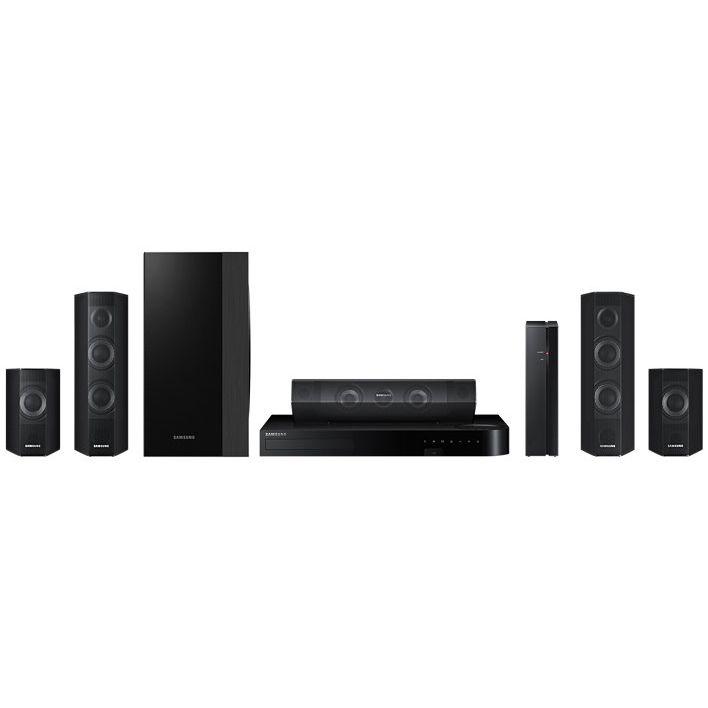 Система за домашно кино 5.1 3D с Blu-Ray Samsung HT-J7500W, 1000W, Черна