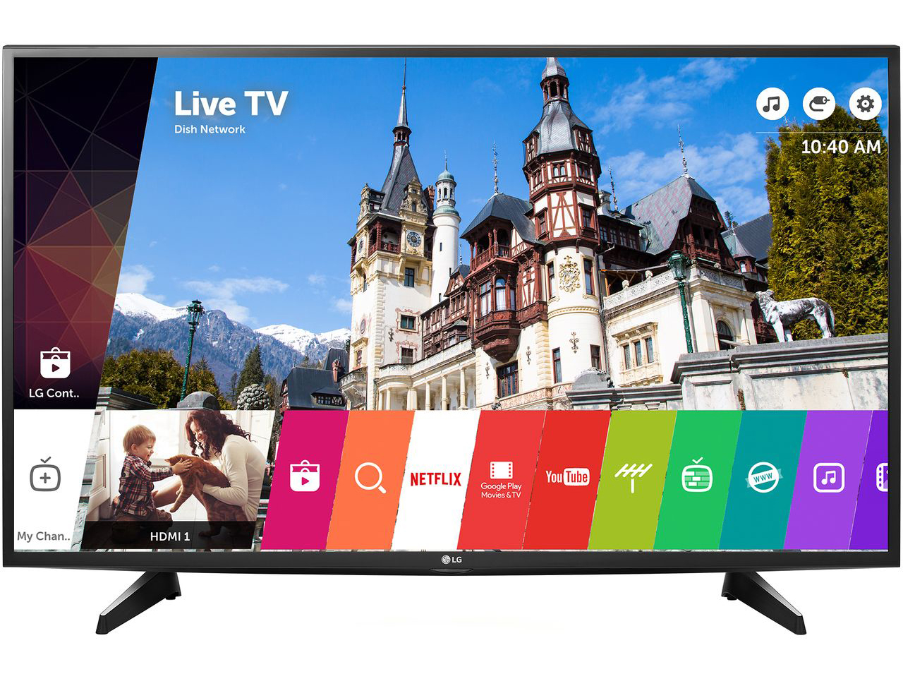 "Телевизор LED Smart LG, 49"" (123 см), 49UH6107, 4K Ultra HD"