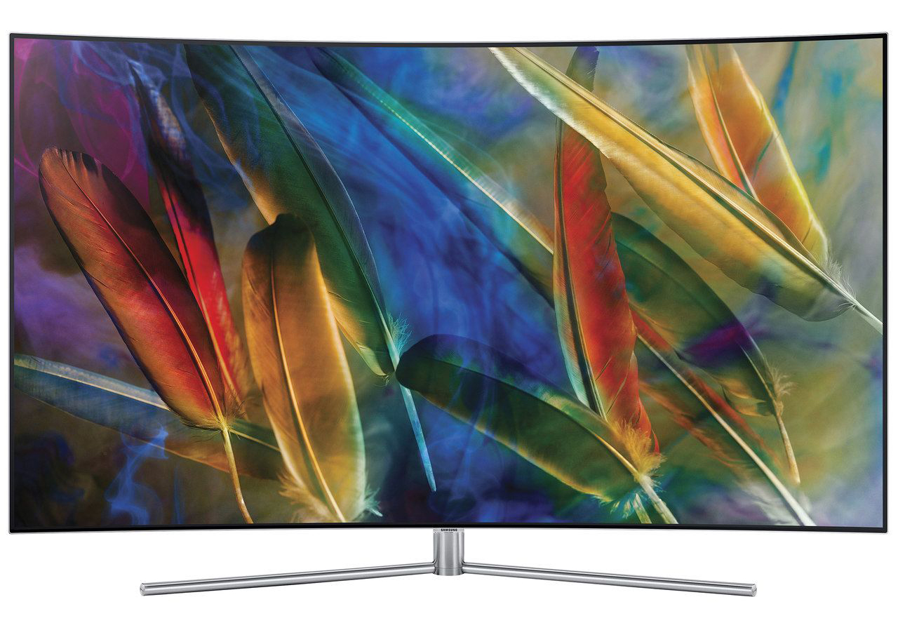 Телевизор QLED Smart Samsung, 65`` (163 cм), 65Q7F, 4K Ultra HD