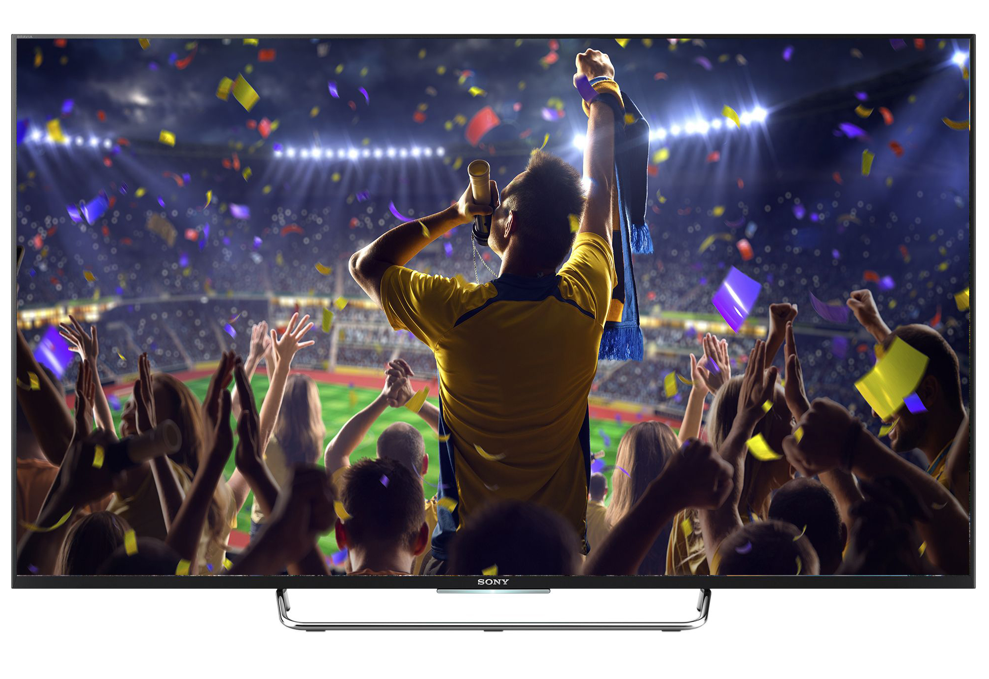 "Телевизор Smart Android LED Sony Bravia 43W755, 43"" (108 см), Full HD"