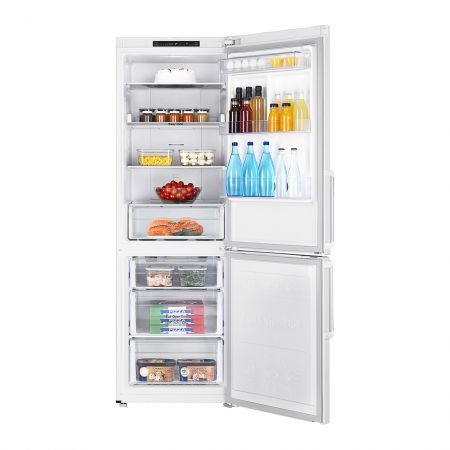 Хладилник с фризер Samsung RB30J3100WW/EF, 311 л, Клас A+, H 178 см, Бял