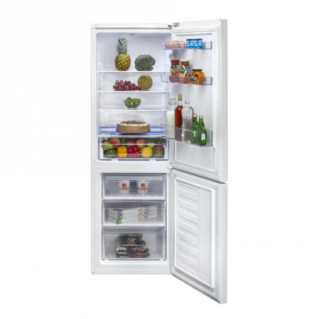 Хладилник с фризер Beko RCSA365K20W, 365 л, H 185.3 см, Клас A+, Бял