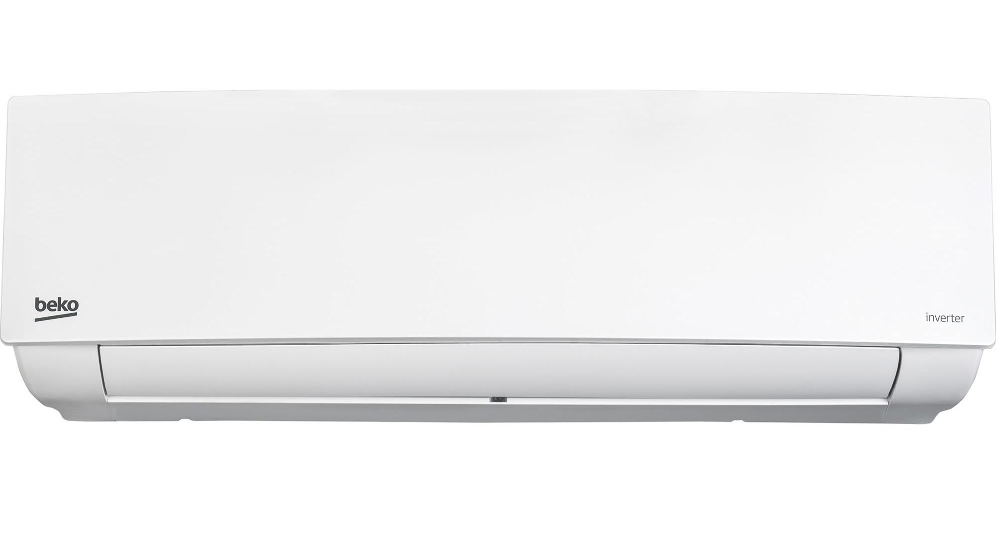 Климатик Beko BHIN 120 Slim, 12000 BTU, Калс A++, Филтър Cold Plasma Ion Generator, Филтър 4 в 1, Отстранява влагата, Комплект за инсталиране, Бял