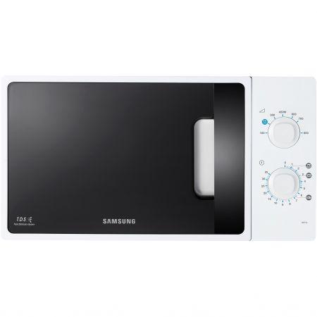 Микровълнова фурна Samsung ME71A, 20 л, 800 W, Механична, Бяла