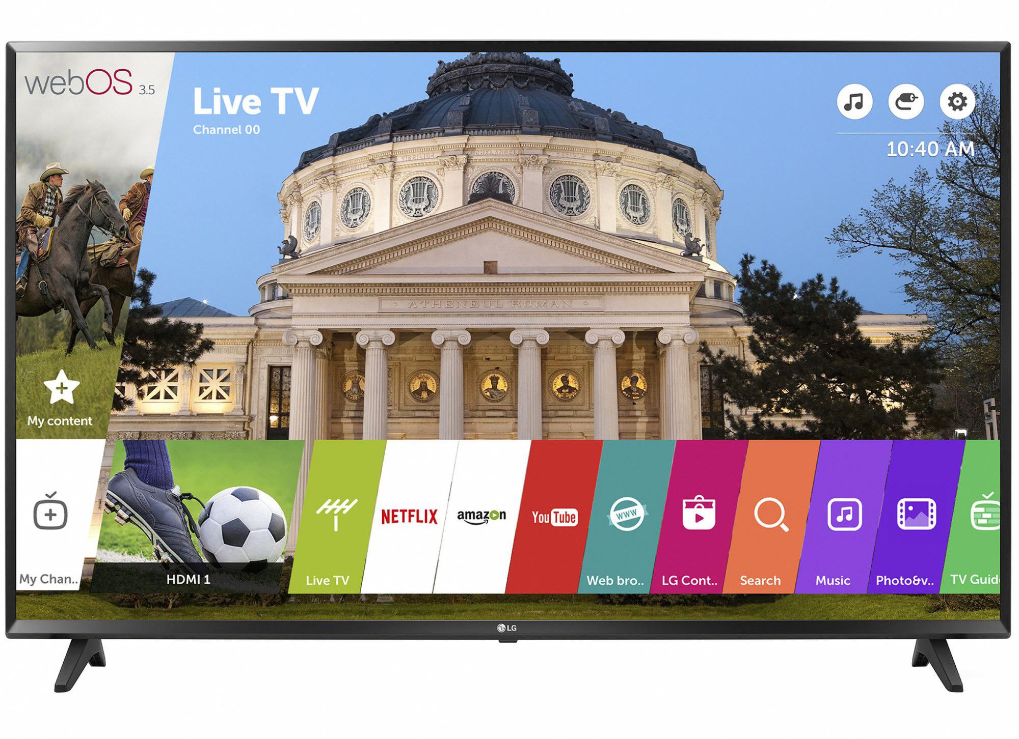 Телевизор LED Smart LG, 49`` (123 cм), 49LJ594V, Full HD