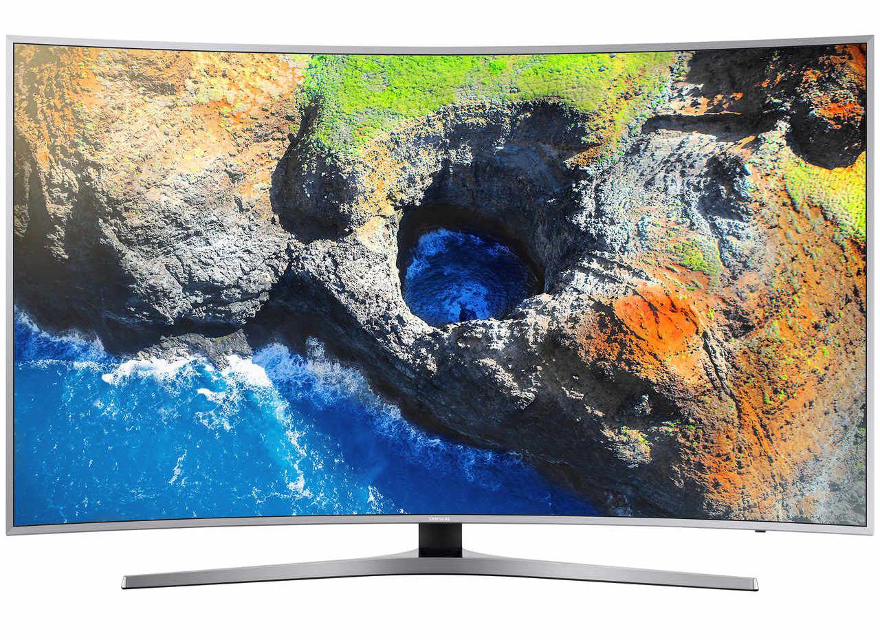Телевизор LED Smart Samsung, 49`` (123 cм), Извит, 49MU6502, 4K Ultra HD