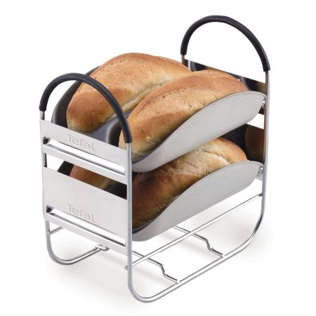 Хлебопекарна Tefal Bread of the World PF6118, 1500 гр, 19 програми, Черна