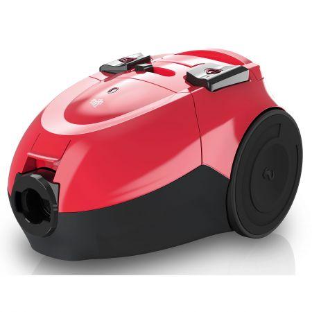 Прахосмукачка с торба Dirt Devil Popster, 800 W, 1.5 л, Филтър Hepa, 2 аксесоара, Розова