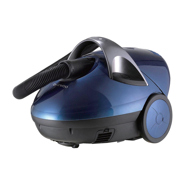 Прахосмукачка с воден филтър Daewoo RCW-402, 1400 W, 4 л, Дигитален контрол на мощността, Тъмносиня