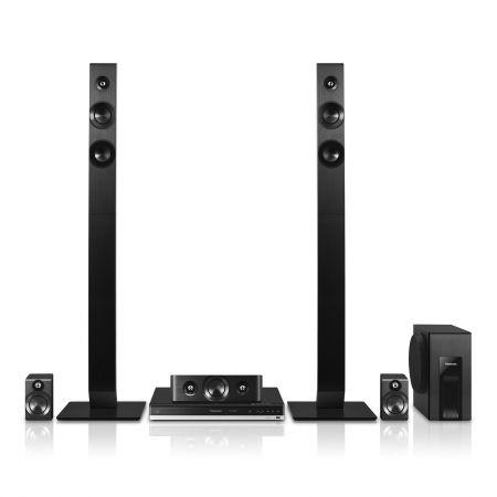 Система за домашно кино 5.1 3D с Blu-Ray Panasonic SC-BTT465EG9, Bluetooth/NFC, Черна