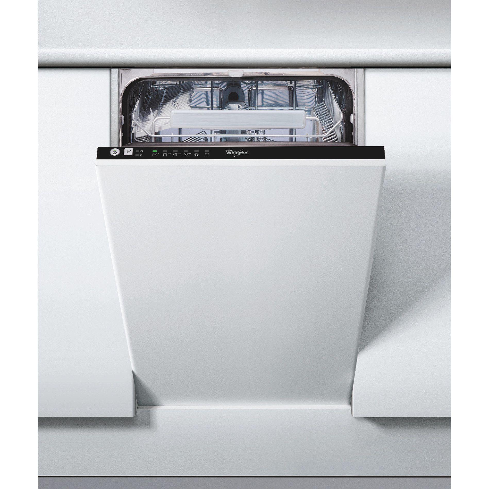 Съдомиялна машина за вграждане Whirlpool ADG 201, 10 комплекта, 6 програми, Клас A+ ,45 cм