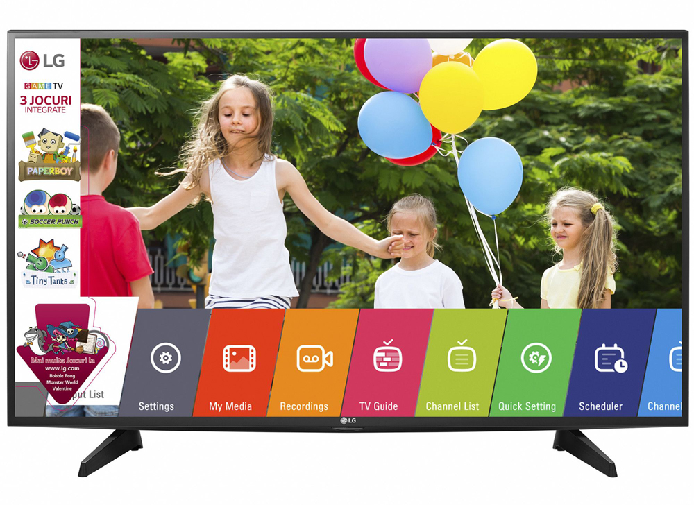 "Телевизор LED Game TV LG, 43"" (108 cм), 43LJ515V, Full HD"