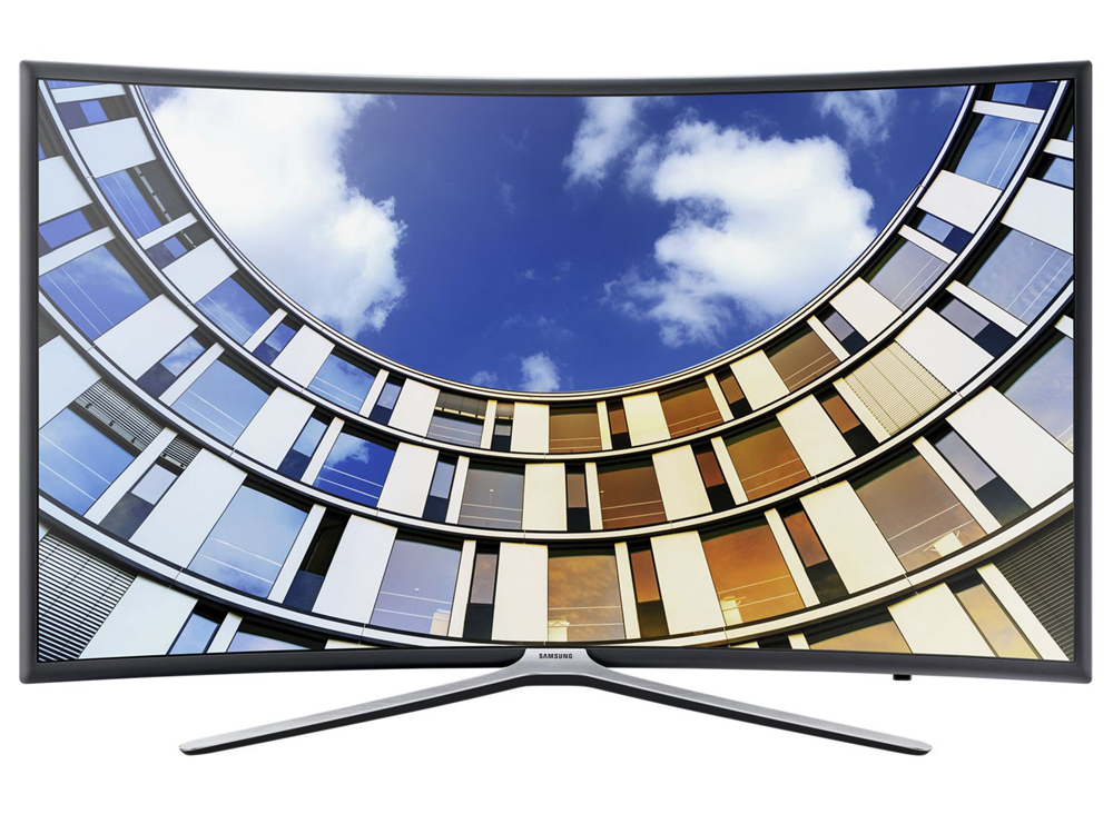 Телевизор LED Smart Samsung, Извит, 55`` (138 cм), 55M6302, Full HD