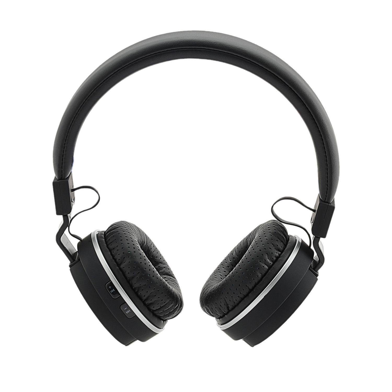 Cлушалки Bluetooth A+ SBG1, Черни