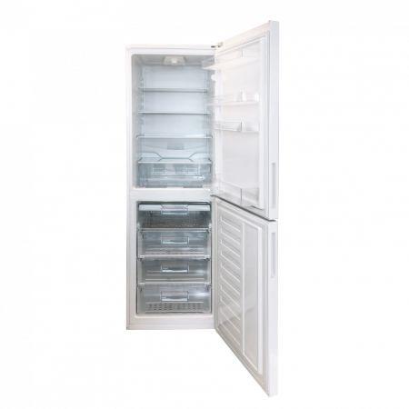 Хладилник с фризер Arctic AK60350-4, 331 л, Клас A+, H 201 см, 4 фризерни чекмеджета, Бял