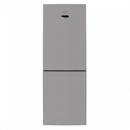 Хладилник с фризер Arctic AK60355NFEMT+, 321 л, Клас A+, H 201, Сребрист