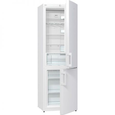 Хладилник с фризер Gorenje, Модел NRK6191CW, 307 л, Бруто обем: 325 л, Енергиен клас: A+, Бял