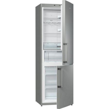 Хладилник с фризер Gorenje NRK6191GHX, 325 л, 185 cм, Сребрист