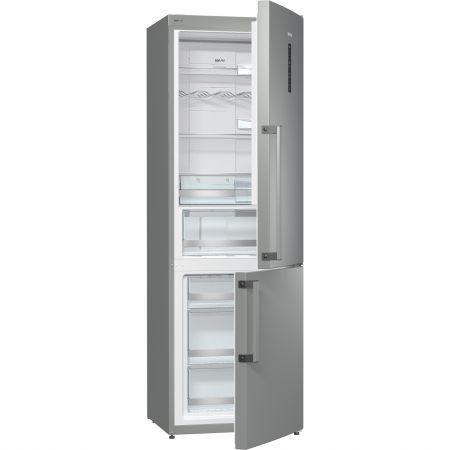 Хладилник с фризер Gorenje NRK6193TX, 307 л, Клас A+++, No Frost, IonAir c MultiFlow 360 градуса, LED, H 185 cм, Инокс