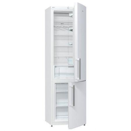 Хладилник с фризер Gorenje NRK6201CW, No Frost, 363 л, 200 cм, Бял