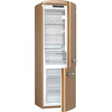 Хладилник с фризер Gorenje Old Time ONRK193CO, NoFrost Plus, 334 л, Клас A+++, 194 см, Cappuccino