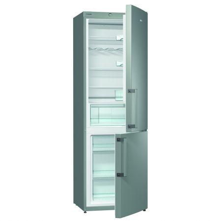 Хладилник фризер Gorenje RK6191AX, Енергиен клас А+, Обем 326 л., Сив металик