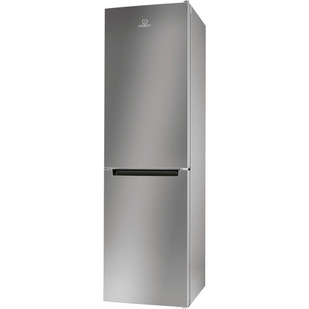 Хладилник с фризер Indesit LR8 S1 S, 339 л, Клас A+, H 187 см, Silver