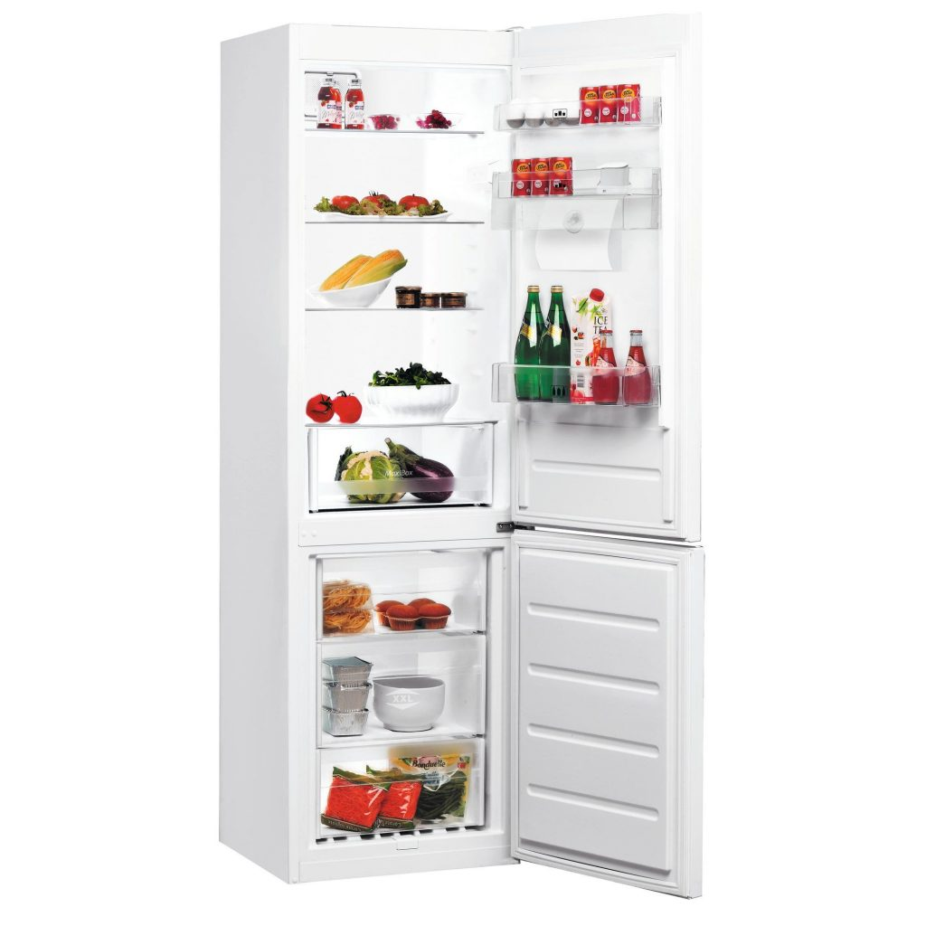 Хладилник с фризер Whirlpool 6th Sense BLF 8121 W AQUA, 335 Л, Клас A+, Бял