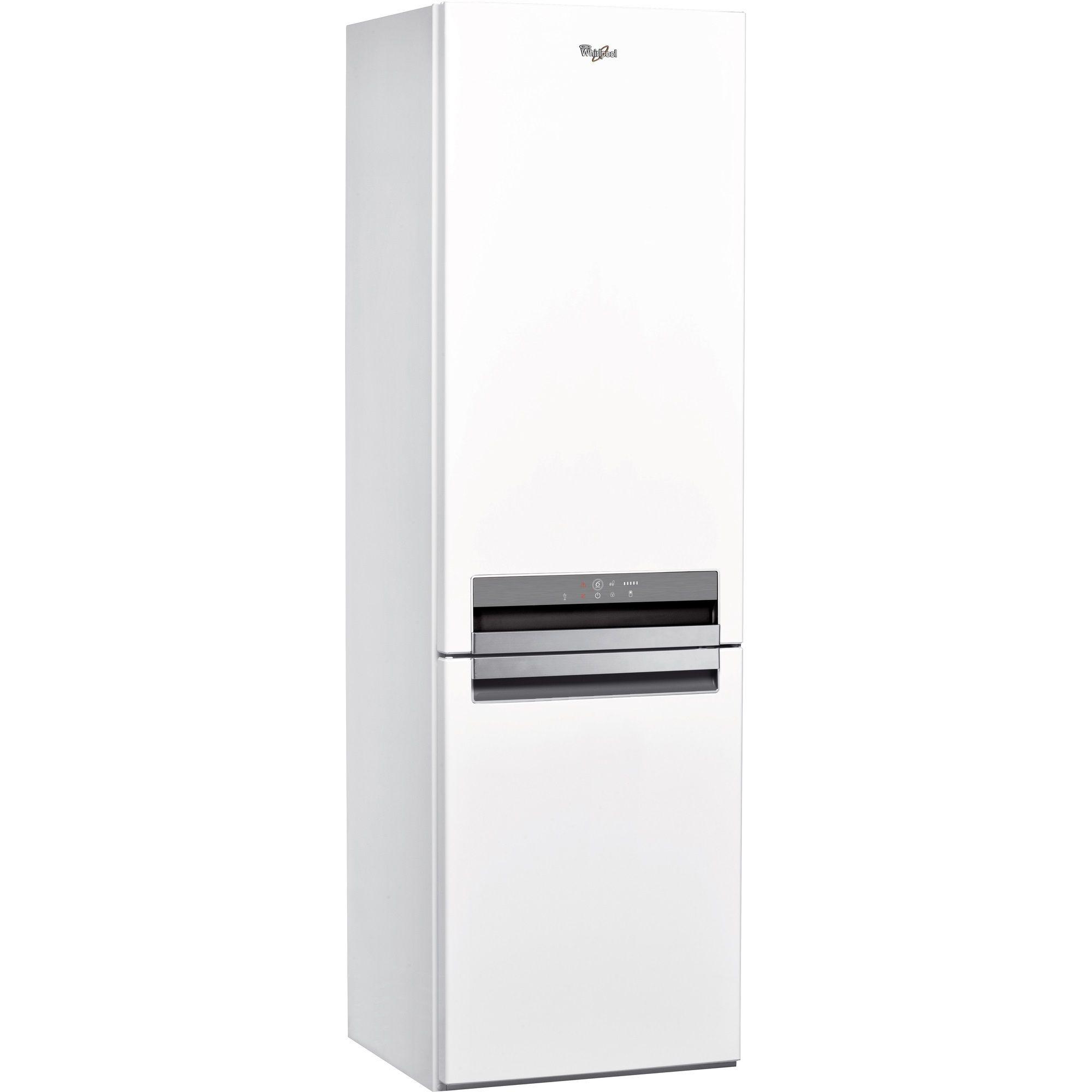 Хладилник с фризер Whirlpool BSNF 8121 W, 315 л, Клас A+, 6th Sense, Supreme NoFrost, H 188.5 см, Бял