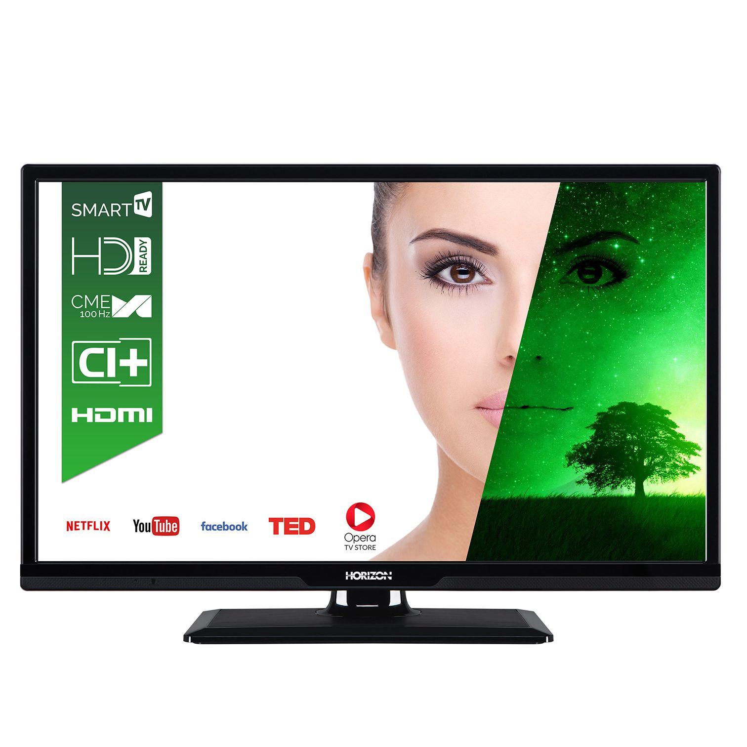 Телевизор LED Smart Horizon, 24`` (61 cм), 24HL7110H, HD