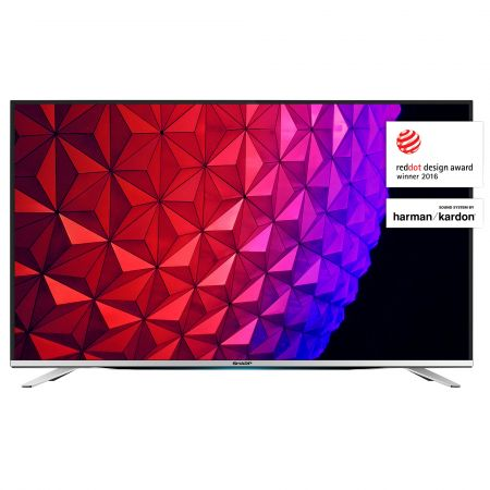 Телевизор LED Smart Sharp, 55`` (139 cм), LC-55CFG6452E, Full HD