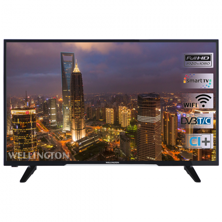 "Телевизор LED Smart Wellington, 24"" (61 cм), 24HD279, HD"