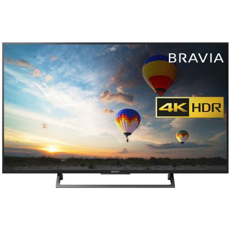 Телевизор Smart Android LED Sony Bravia, 43`` (108 cм), 43XE8005, 4K Ultra HD