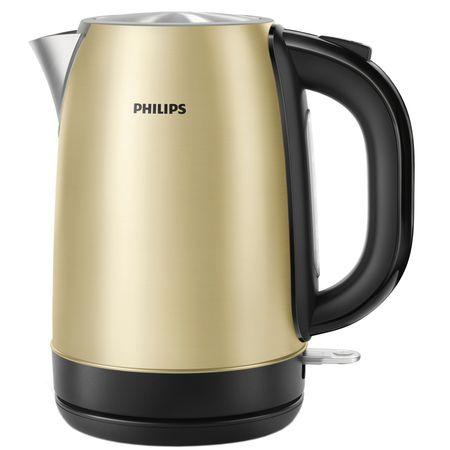 Ел. кана Philips HD9324/50, 2200 W, 1.7 л, Автоматично изключване, Шампанско