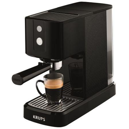 Еспресо машина Krups Calvi XP3410, 1460W, 15 бара, 1л, Черна