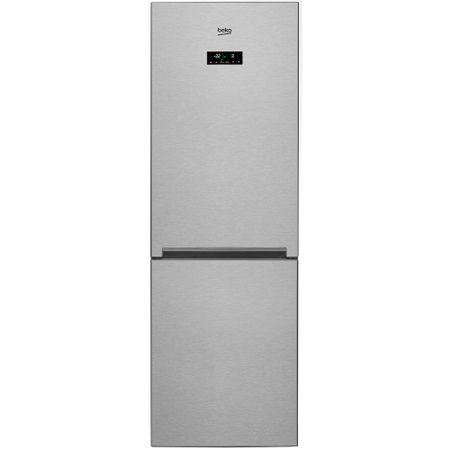 Хладилник с фризер Beko RCNA365E20ZXP, 319 л, Клас A+, NeoFrost, Отделение EverFresh, Йонизираща функция, Височина 185.3 см, Инокс против отпечатъци