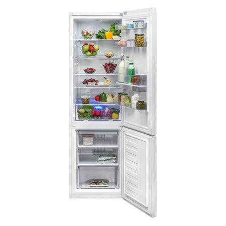Хладилник с фризер Beko RCSA400K20DW, 377 л, Клас A+, BlueLight, Диспенсър за вода, Височина 201 см, Бял