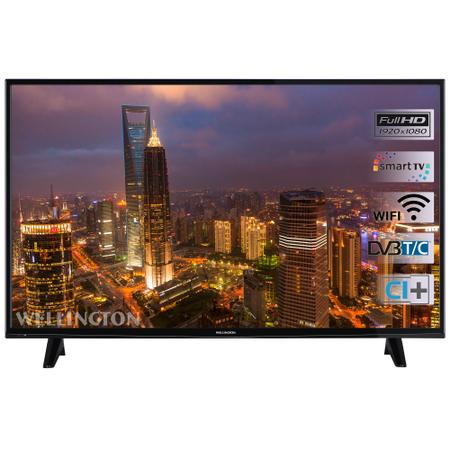"""Телевизор LED Smart Wellington, 49"""" (124 см), WL49FHD282SW, Full HD"""